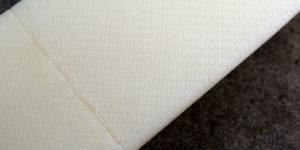 Detalle de textura y unión