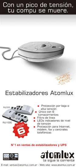 estabilizadores de tension atomlux